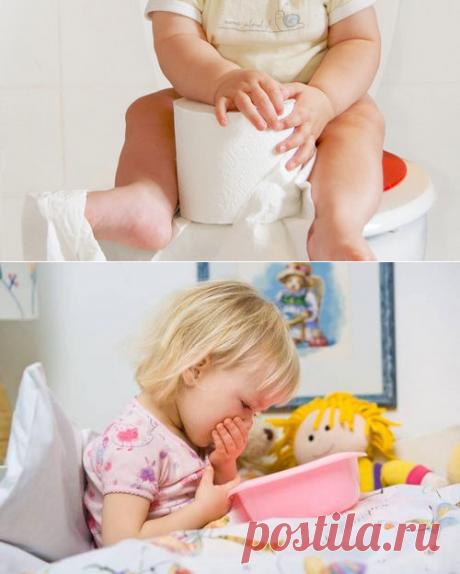 Триада симптомов: понос, рвота, температура у ребенка