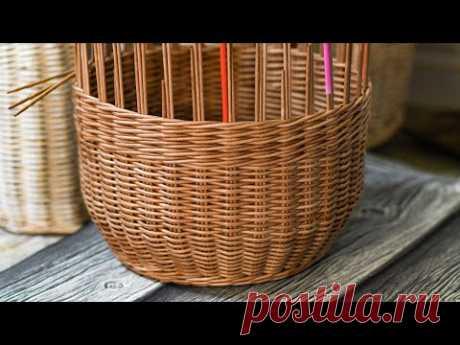 Плетём корзину. Часть 2. Запись Эфира