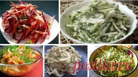 9 лучших салатов на каждый день