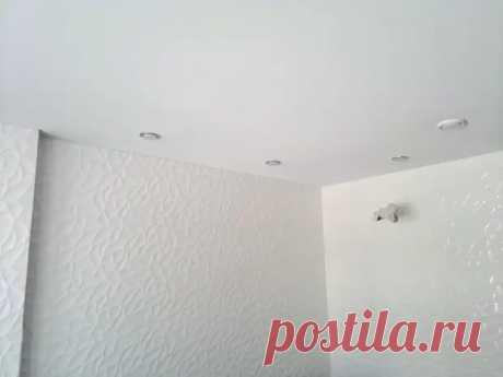 Тканевый натяжной потолок своими руками - С миру по нитке - медиаплатформа МирТесен