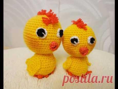 Цыплёнок Часть 2 Сhicken Part 2 Crochet - YouTube