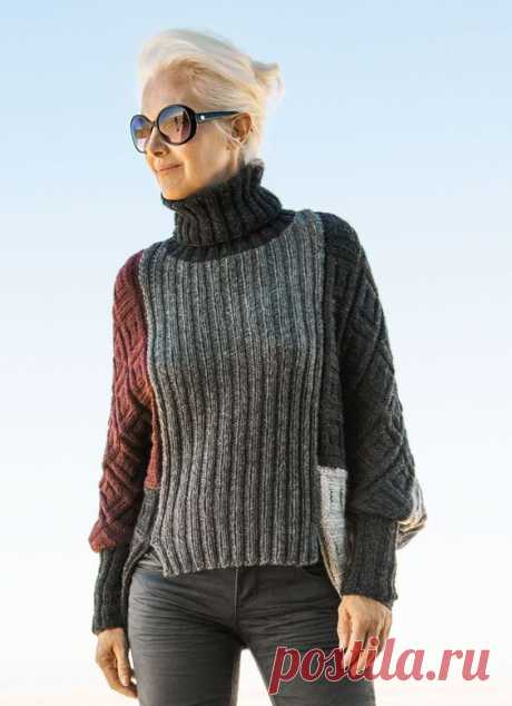 Переделки свитеров (подборка) Модная одежда и дизайн интерьера своими руками