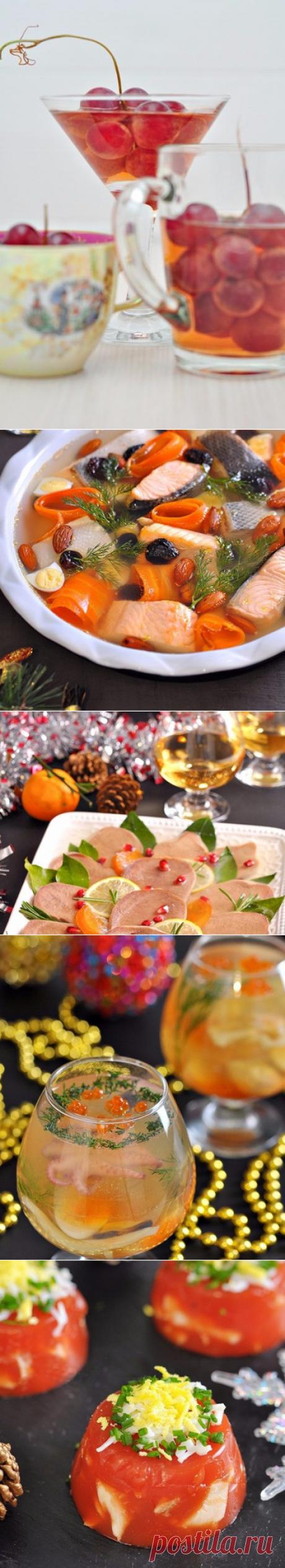 5 рецептов заливного к Новому году!
