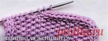 """Processing of edge hollow cord of I-CORD \u000aThis detailed master class \""""Processing of direct edges of a detail a hollow cord\"""" will be useful to the beginning knitters and skilled skilled workers.\u000a\u000aIn order that the thing connected by spokes looked effectively and is complete, we offer one of ways of finishing of both vertical, and horizontal edges of details. It can be side edges of shelves or edge of a poncho, and also edge of a scarf or a palatine, or just free edges any other knitted spokes to an izda..."""