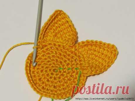 Diagonal Tunisian knitting from Ksenia Nikolaeva.