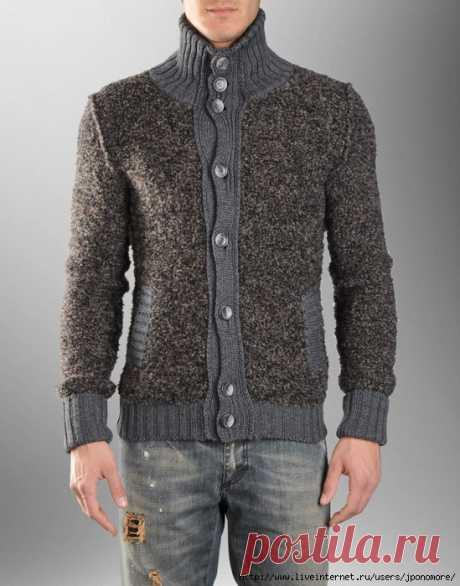 Подборка модных мужских свитеров