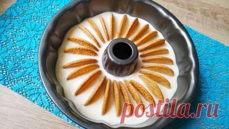 """Крутой десерт без выпечки """"Фантастика"""" произвел фурор! — Кулинарная книга - рецепты с фото"""