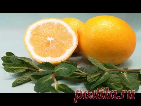 Лимонад и цитрусовый компот! Просто, вкусно и никакой химии!