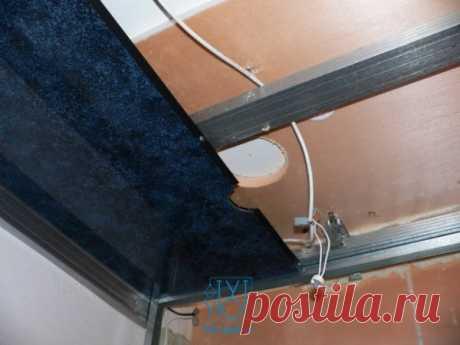 Как монтировать панели ПВХ на потолок » Отделка и дизайн квартир