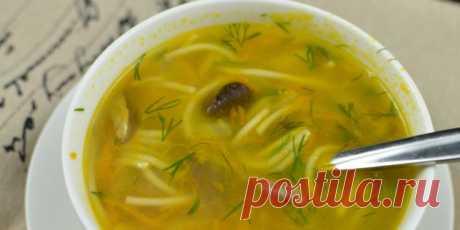 10 вкусных супов из свежих и сушёных белых грибов