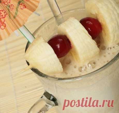 Кофейно-банановый смузи от Starbucks рецепт – авторская кухня: напитки