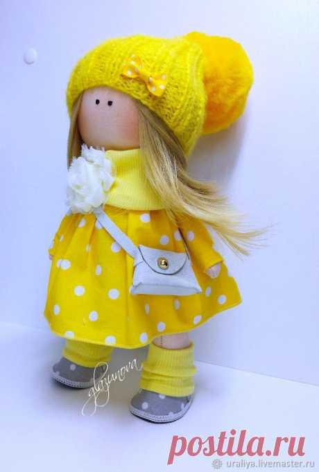 Текстильная интерьерная кукла – купить в интернет-магазине на Ярмарке Мастеров с доставкой Текстильная интерьерная кукла – купить или заказать в интернет-магазине на Ярмарке Мастеров | Милая куколка поселится вашем доме и украсит…