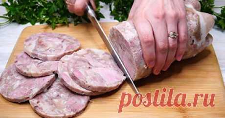 Кладу мясо в бутылку и получаю натуральную колбасу. Смотрите как! — woman-journal.space