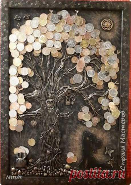 Талисман финансовой удачи в виде денежного дерева — DIYIdeas