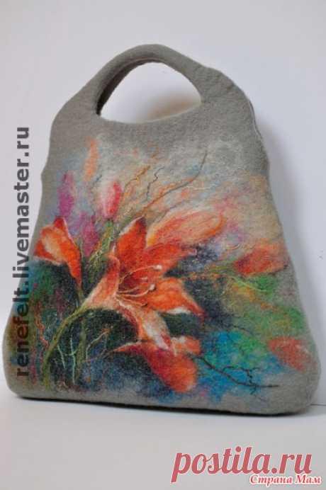 Валяные сумки - Сумки &Co - Страна Мам