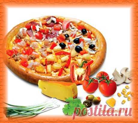 Вкусная домашняя пицца, рецепт