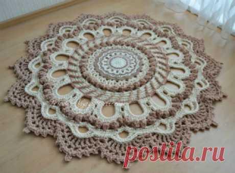 коврики,дорожки - Crochet Modnoe Vyazanie