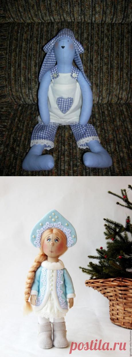 Куклы ангелы сшитые своими руками