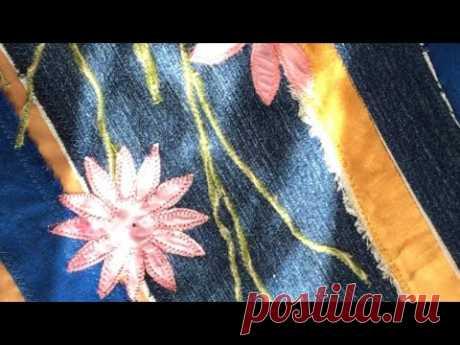 ТАКИЕ РАЗНЫЕ ЖИЛЕТЫ!  Шью из ненужных полосок ткани. Красивые вещи из ничего!