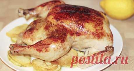 Как я запекаю сочную курицу целиком: все, кто пробовал, делают теперь только по этому рецепту. Новогоднее меню 2020 | IrinaCooking | Яндекс Дзен