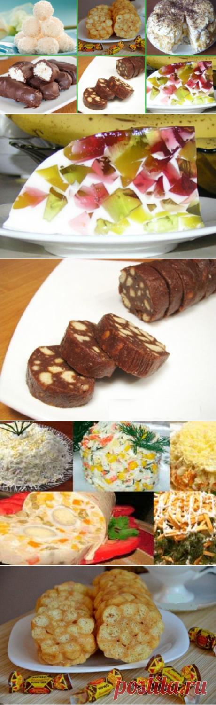 Двенадцать простых и вкусных сладостей без выпечки