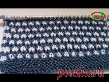 №94 Безумно красивый ленивый жаккард  Для свитера, снуда, детских вещей  Knitting pattern
