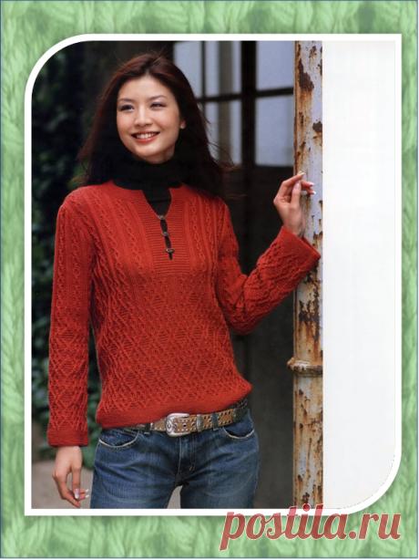 7 джемперов для осенней прогулки из японских журналов | Embroidery art | Яндекс Дзен
