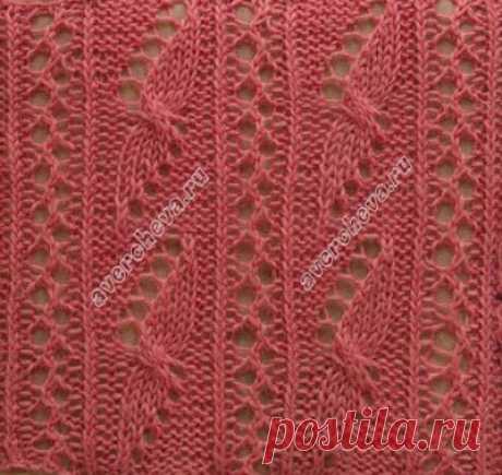Красивые японские узоры спицами 6  1   Схема узора: В схеме указаны лицевые (нечетные ряды-вяжем справа налево)   и изнаночные ( четные ряды- вяжем слева направо). Раппорт узора 16 петель в ширину и 24 ряда рядов в высоту.    2  С…