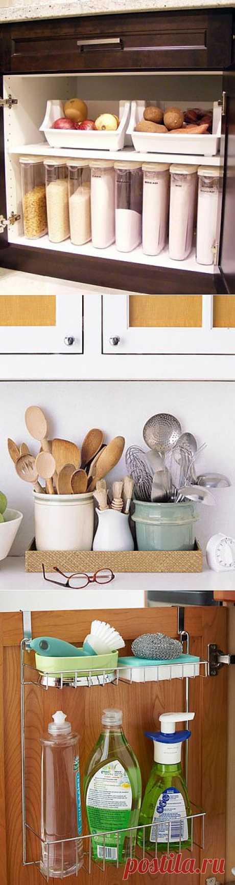 Как организовать пространство на кухне - идеи - Hozburo.ru