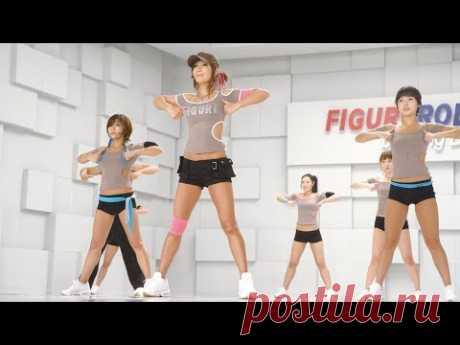 [FHD] FIGUREROBICS (FIGUREDANCE)-Jungdayeon_チョンダヨン_ 郑多燕_鄭多燕_30 Min Fat Burning Cardio Workout