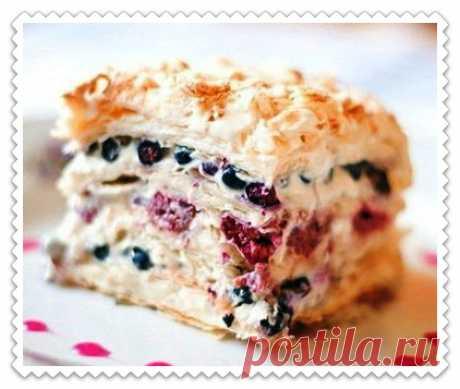 Пирог с замороженными ягодами: быстрые и вкусные рецепты