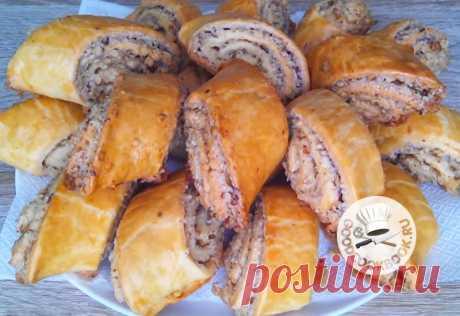 Вкусная выпечка Гата: Слоеная с ореховой начинкой - Калейдоскоп событий  Очень вкусное печенье из слоеного теста. Выпечка получается мягкая и рассыпчатая. Даже через несколько дней она сохраняет свой превосходный вкус и аромат. Продуты Для теста: — Мука пшеничная — […]