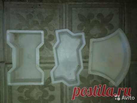 Формы для тротуарной плитки купить в Сызрани | Товары для дома и дачи | Авито