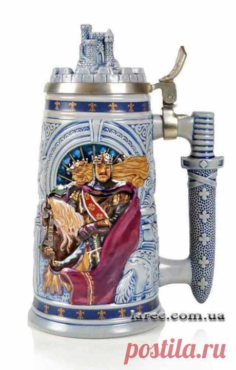 Оригинальный подарок мужчине пивная кружка рыцари королевства Avon | Интернет-магазин подарков Ларец великолепный подарок мужчине коллекционеру пивных кружек. Бесплатная доставка по Киеву