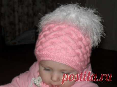 зимняя шапка для девочки спицами: 24 тыс изображений найдено в Яндекс.Картинках