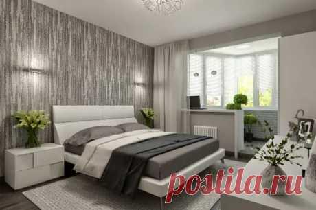 Спальня, совмещенная с лоджией: дизайн и варианты оформления (84 фото) - cozyblog - медиаплатформа МирТесен