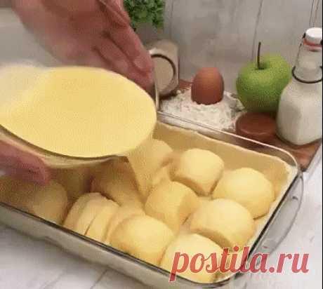 Необычный яблочный пирог! | OK.RU