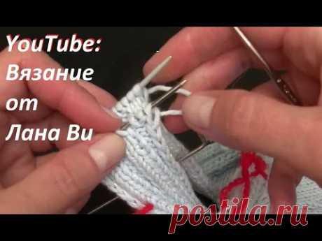 Как соединять крючком БОКОВЫЕ швы и ОТКРЫТЫЕ петли #ВязаниеСпицами