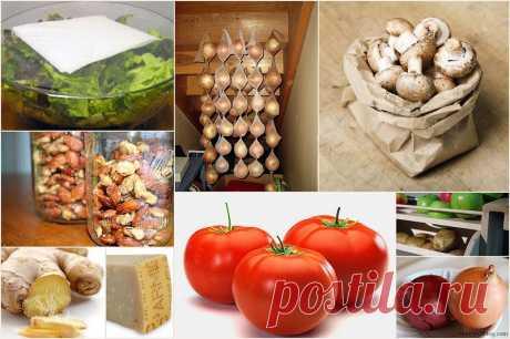 Как правильно хранить продукты : НОВОСТИ В ФОТОГРАФИЯХ