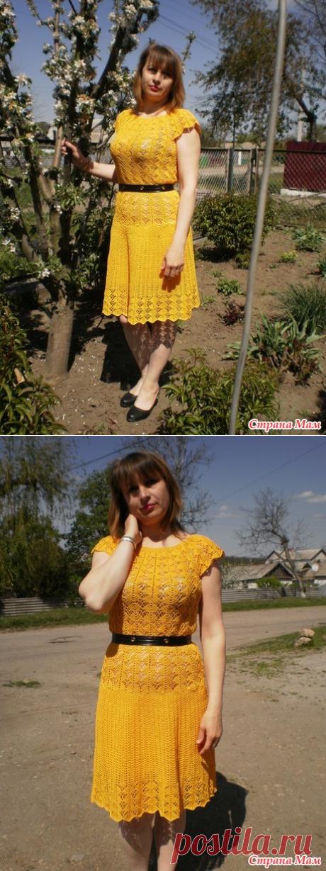 Платье как у Кайли Миноуг - Вязание - Страна Мам