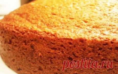 Медовый бисквит / Тесто / TVCook: пошаговые рецепты с фото