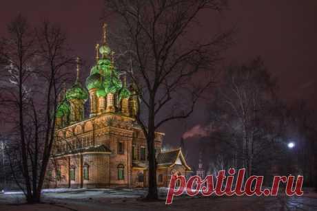 Церковь Иоанна Предтечи. Ярославль. Автор фото – Алексей Князев: Спокойной ночи.