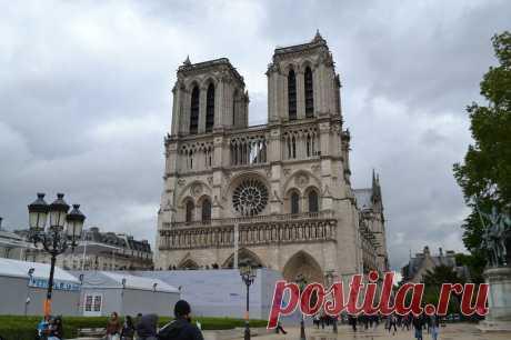 Нотр Дам де Пари***Собор Парижской Богоматери.