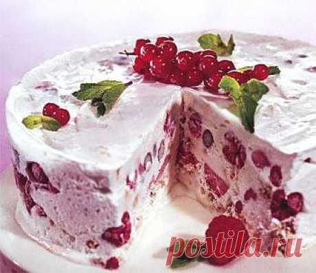 Торт-мороженое.