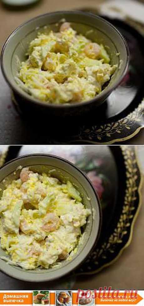 Рецепт: Салат из креветок - все рецепты России