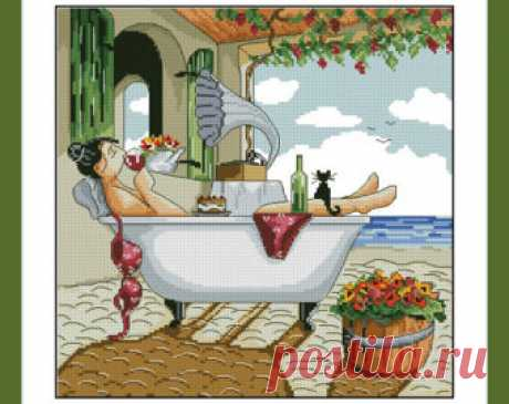 My day off Ronald West Instant PDF Digital Download from 100patterns
