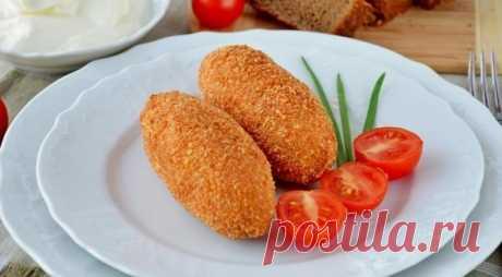 Котлеты с хрустящей корочкой — Sloosh – кулинарные рецепты