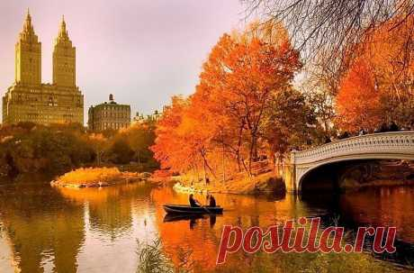Осень в Нью Йорке