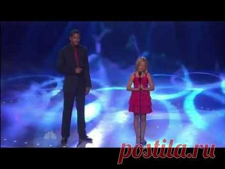 10 летняя девочка в Америке превзошла Сьюзан Бойл!