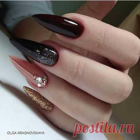 Дизайн на длинные ногти